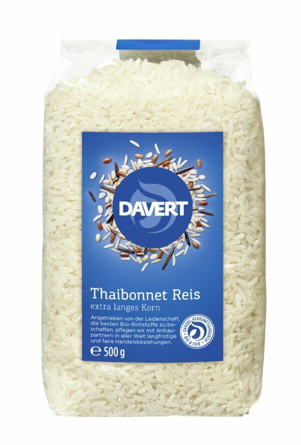 Davert Thaibonnet Reis 500g 8x500g