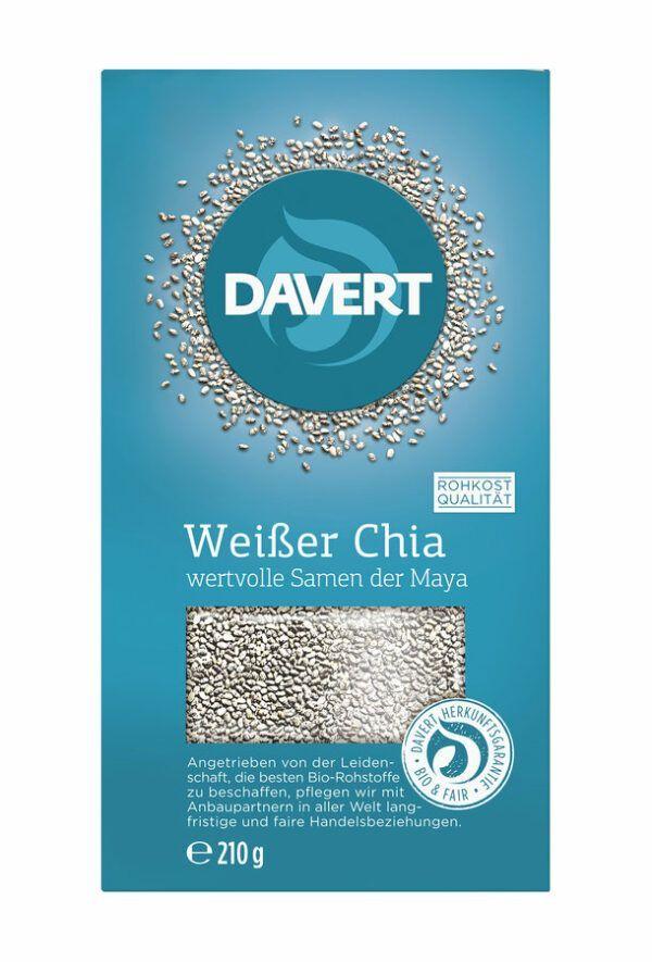 Davert Weißer Chia 8x210g
