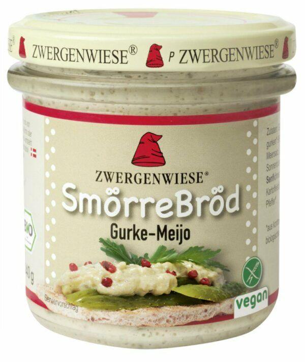 Zwergenwiese SmörreBröd Gurke-Meijo 6x140g