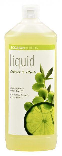 Sodasan LIQUID Citrus-Olive 6x1000ml