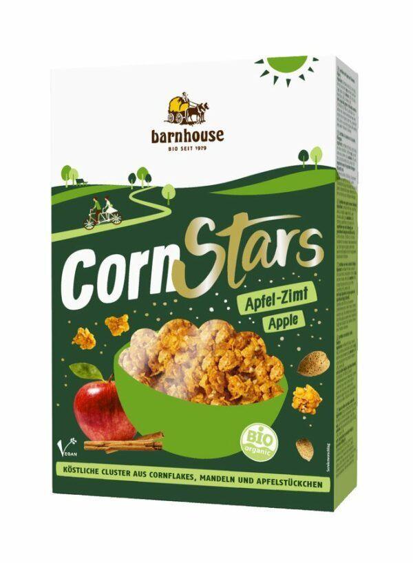 Barnhouse CornStars Apfel-Zimt 6x300g