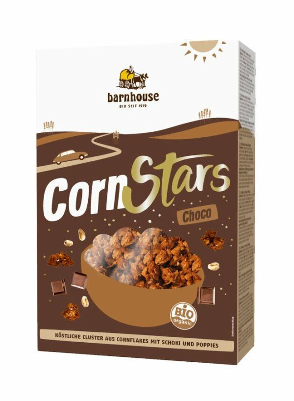 Barnhouse CornStars Choco 6x250g
