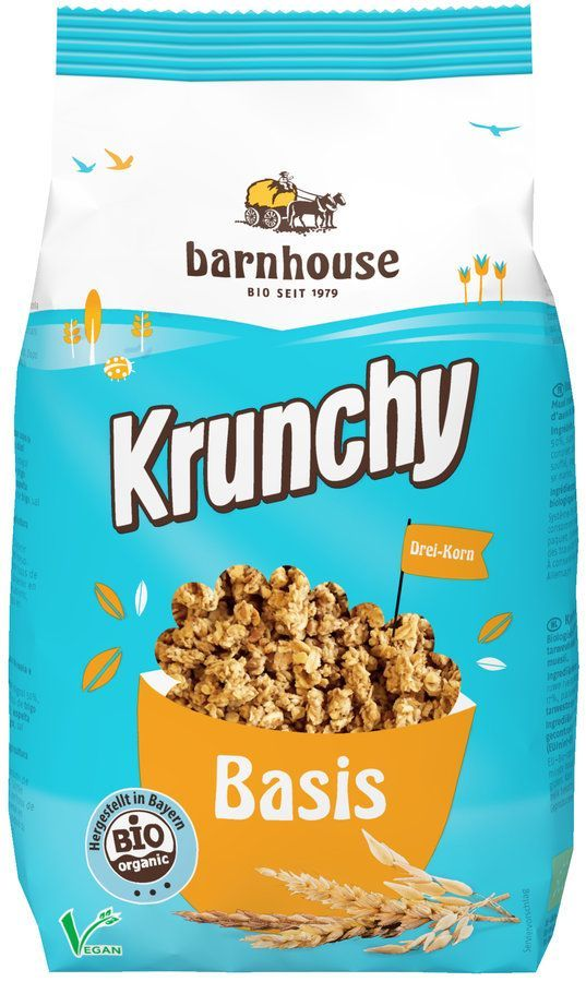 Barnhouse Krunchy ´Täglich Bio´ Basis 6x375g