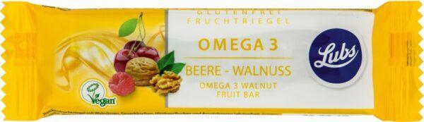 Lubs Omega 3 Beere - Walnuss Fruchtriegel 25x40g