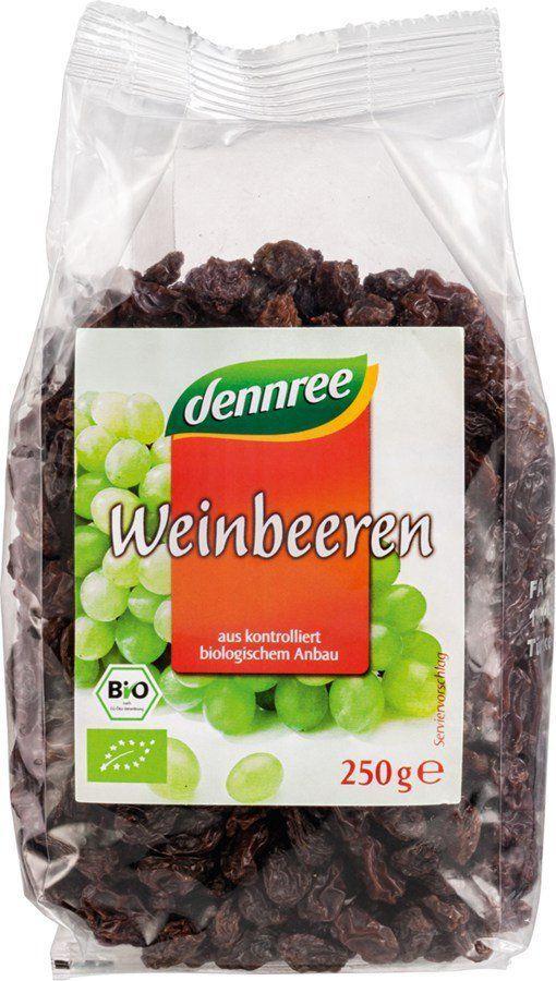 dennree Weinbeeren 8x250g