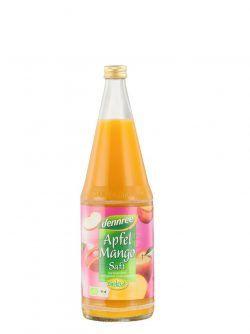 dennree Apfel-Mango-Saft in der Flasche 1l