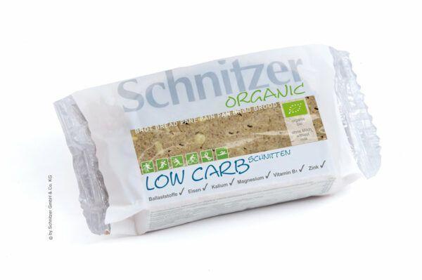 Schnitzer ORGANIC Bio Low Carb Schnitten 6x250g