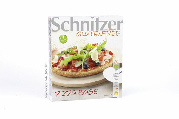 Schnitzer  BIO PIZZA BASE 8x3x100g