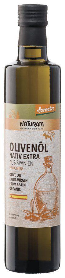 NATURATA Olivenöl aus Spanien nativ extra 6x500ml