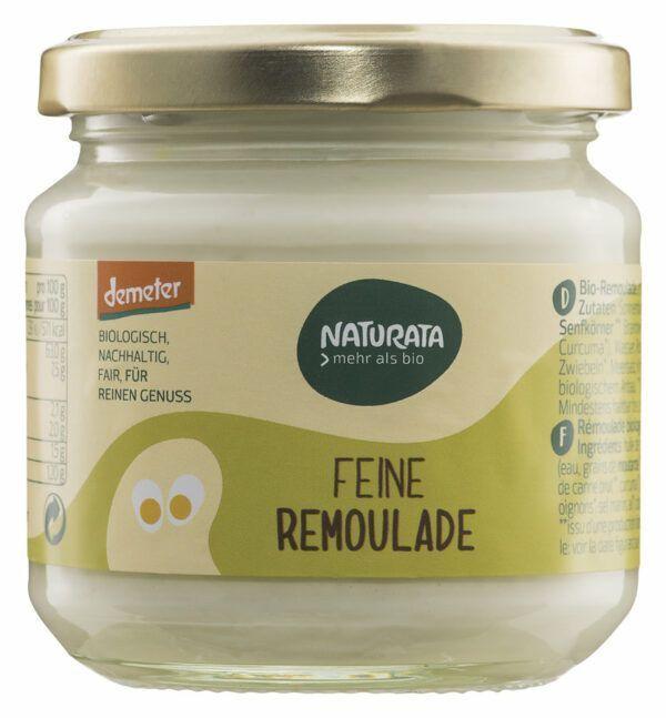 NATURATA Feine Remoulade im Glas 6x190ml