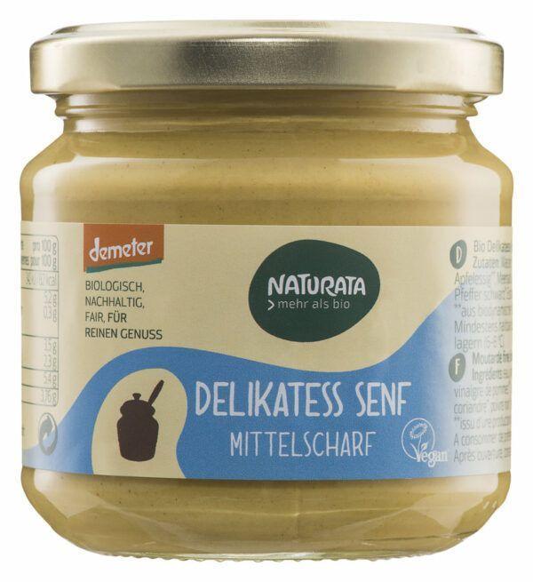 NATURATA Delikatess Senf im Glas 6x190ml