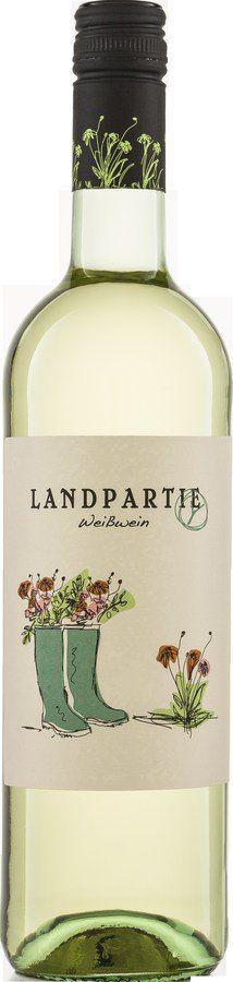 Riegel Bioweine LANDPARTY Weiß 6x0,75l