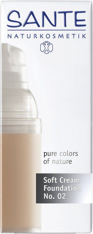 Sante Soft Cream Foundation l. beige No. 02 30ml