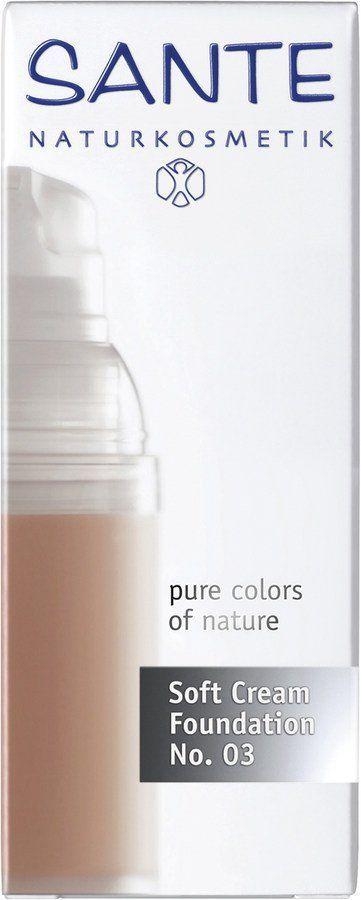 Sante Soft Cream Foundation s. beige No. 03 30ml