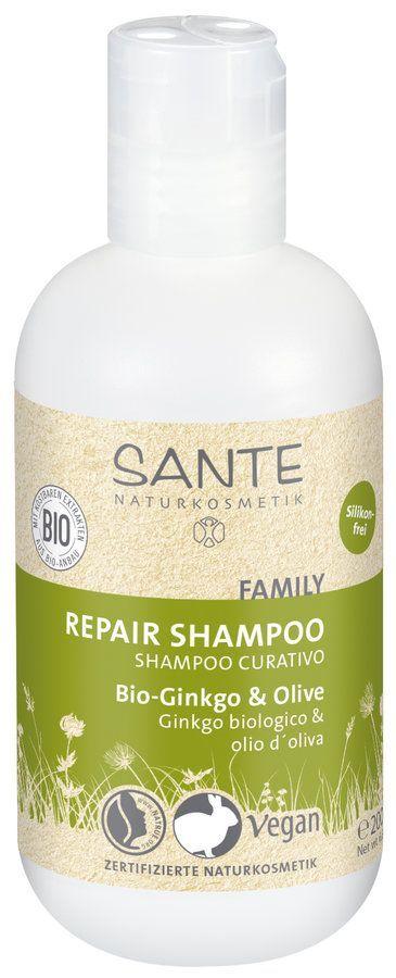 Sante FAMILY Repair Shampoo Bio-Ginkgo & Olive 200ml