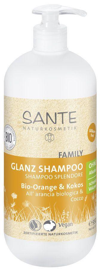 Sante FAMILY Glanz Shampoo Bio-Orange 950ml