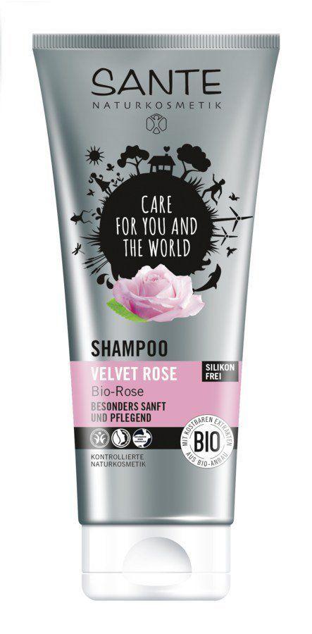 Sante Shampoo Velvet Rose 200ml