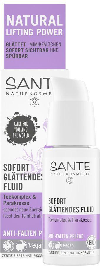 Sante Sofort glättendes Fluid Teekomplex & Parakresse 30ml