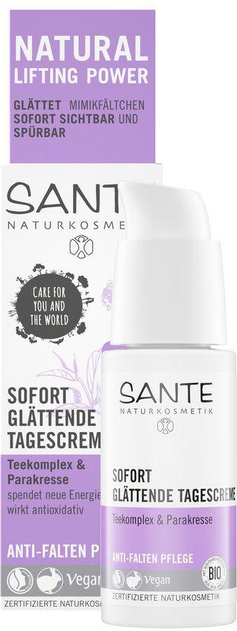Sante Sofort glättende Tagescreme Teekomplex & Parakresse 30ml