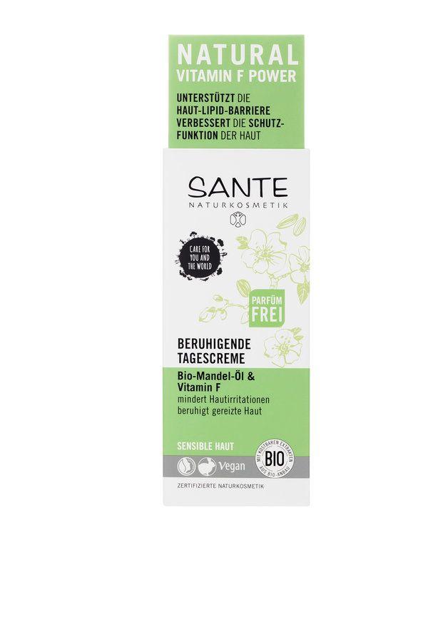 Sante Beruhigende Tagescreme Bio-Mandel-Öl & Vitamin F 50ml