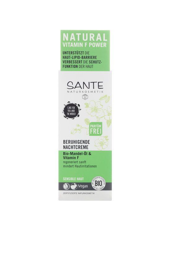 Sante Beruhigende Nachtcreme Bio-Mandel-Öl & Vitamin F 50ml