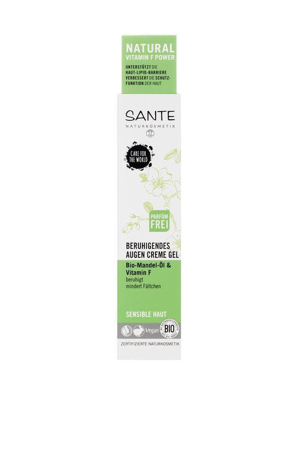 Sante Beruhigendes Augencreme Gel Bio-Mandel-Öl & Vitamin F 15ml