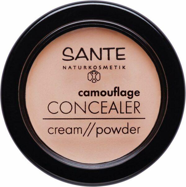 Sante Camouflage Concealer Cream//Powder 02 sand 3,4g