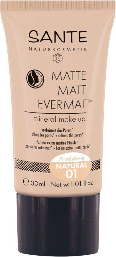 Sante Matte Matt EvermatTM  Mineral Make up 01 natural 30ml