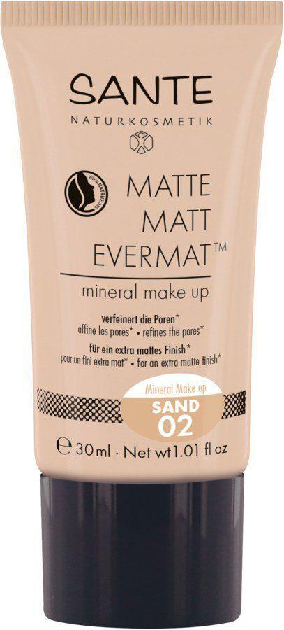 Sante Matte Matt EvermatTM Mineral Make up 02 sand 30ml