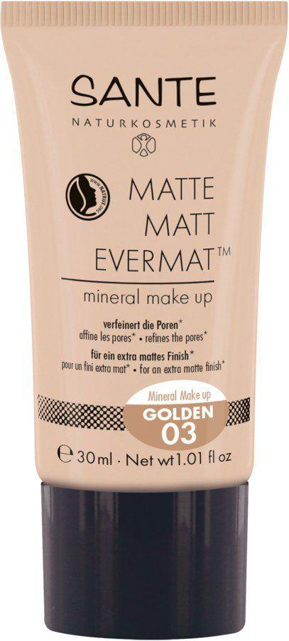 Sante Matte Matt EvermatTM Mineral Make up 03 golden 30ml