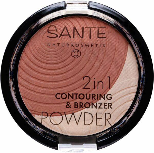 Sante 2in1 Contouring & Bronzing Powder 01 light-medium