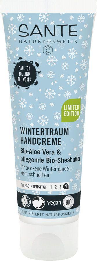 Sante Limited Edition Wintertraum Handcreme Bio-Aloe Vera 75ml