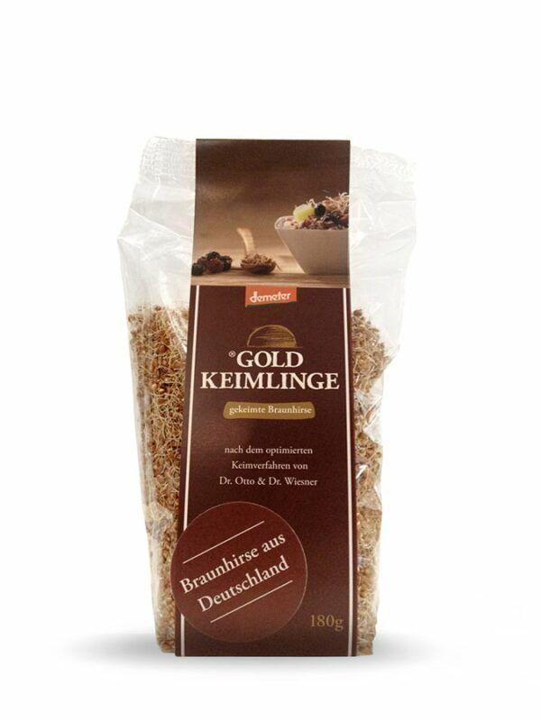 Härdtner Spezialitäten Goldkeimlinge - Gekeimte Braunhirse 6x180g