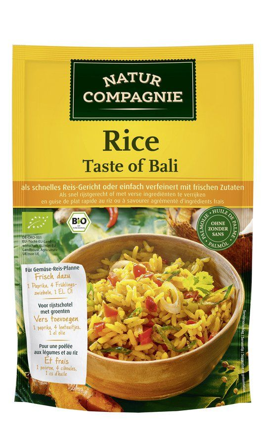 Natur Compagnie Rice - Taste of Bali 10x160g