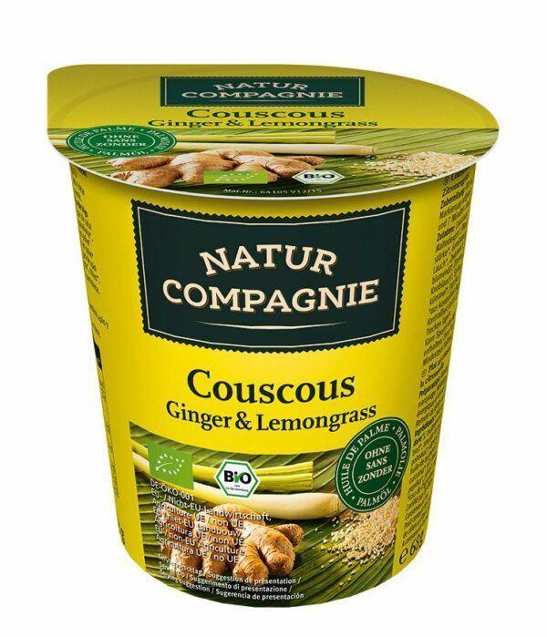 Natur Compagnie Bechergericht Couscous Ginger & Lemongrass 8x68g