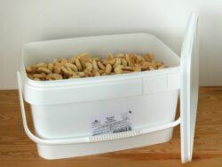 Sommer & Co. Demeter Dinkel Nusskipferl unverpackt im Eimer 5,5kg