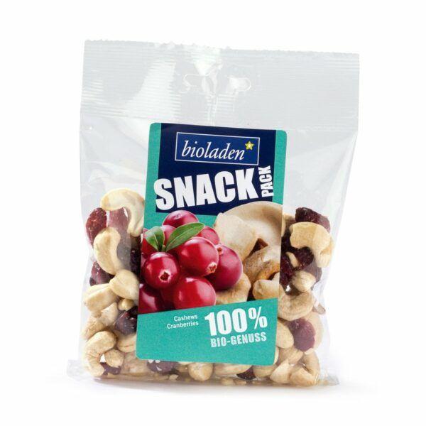 bioladen*  Snack-Pack Cashew-Cranberry 8x100g
