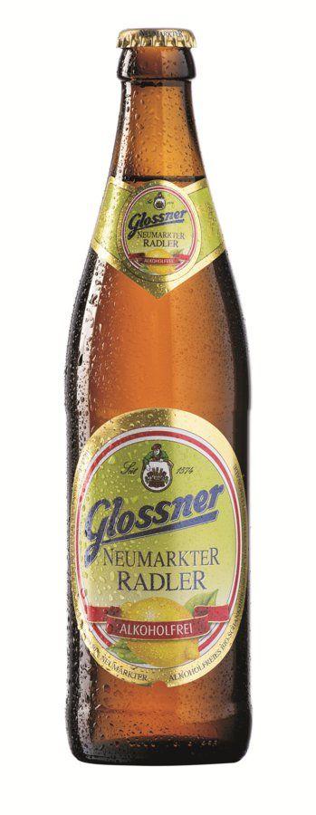 Glossner NEUMARKTER BIO RADLER Alkoholfrei 20x0,5l