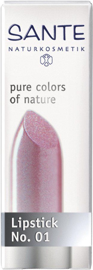 Sante Lipstick light pink No. 01 4,5g