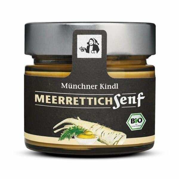 Münchner Kindl Senf Meerrettich Senf BIOLAND 6x180ml