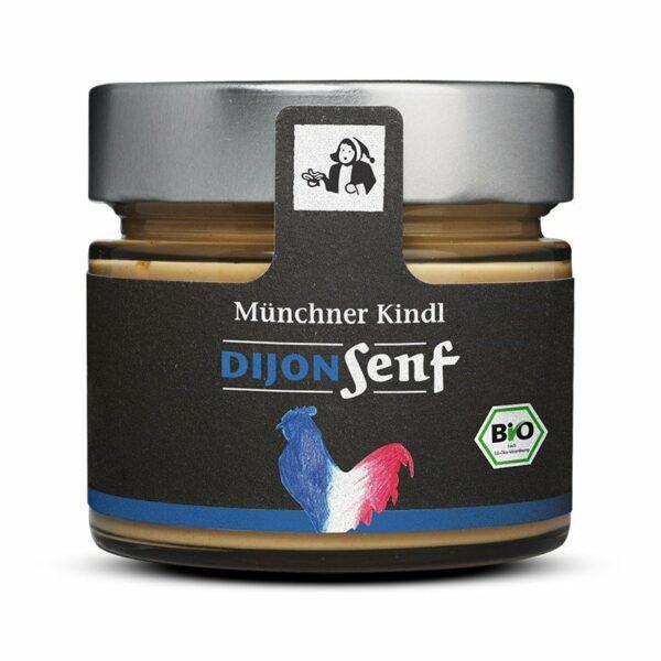 Münchner Kindl Senf Dijon Senf BIOLAND 6x180ml