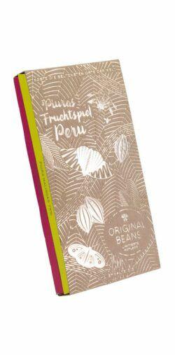 Original Beans Piuras Fruchtspiel, Set mit 2 Dunkelschokoladen 6x2x70g