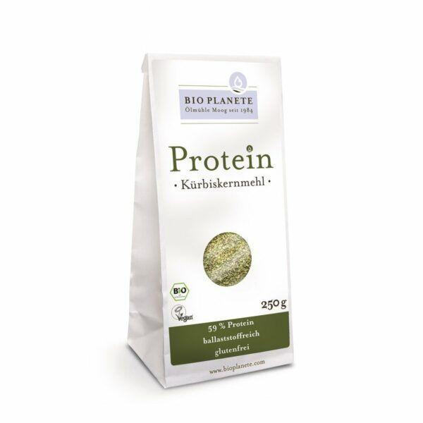 Bio Planète Protein-Kürbiskernmehl 4x250g