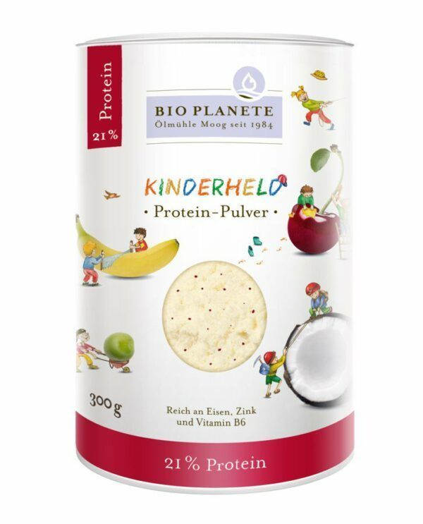 Bio Planete Kinderheld Protein-Pulver 4x300g