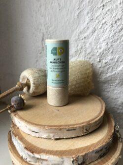 4peoplewhocare Auf´s Mäulchen - Nachfüller - Lippenpflege mit Bienenwachs & Zitronengras 10g