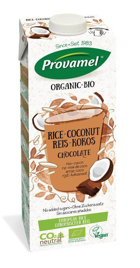Provamel Bio Reis-Kokosdrink Schokolade 8x1l