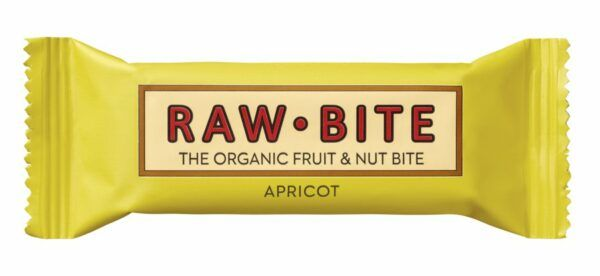 RAW BITE - Apricot 12x50g