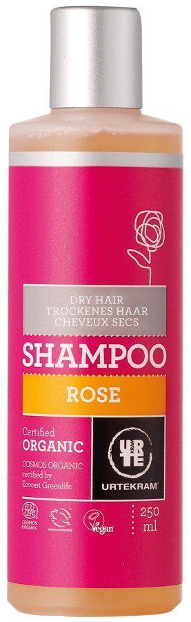 Urtekram Rose Shampoo für trockenes Haar 250ml