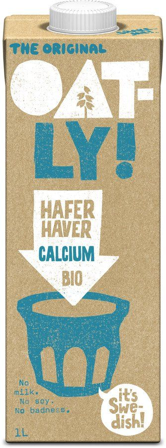 Oatly Bio   Haferdrink Calcium 6x1l