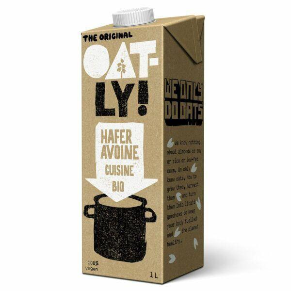 Oatly Bio  OATLY Hafer/Avoine Cuisine 6x1l